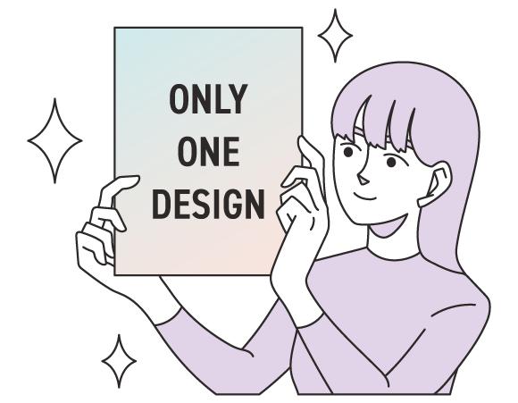 デザインはすべてオリジナル