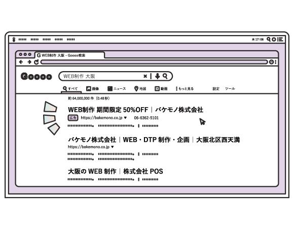 リスティング広告(キーワード / 検索連動型広告)