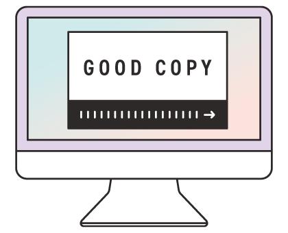 WEB広告運用内容 魅力的な文章・バナーを制作