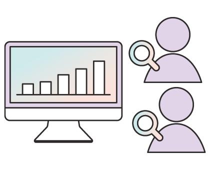 WEB広告運用内容 スタッフが2名体制で毎日チェック