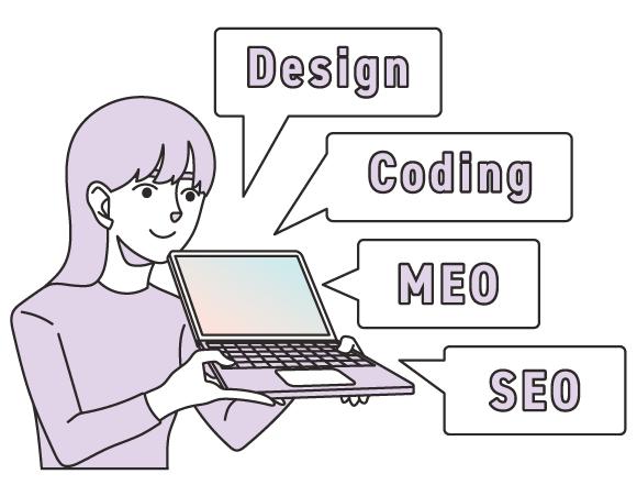 バケモノの基本コンセプト マーケティングを視野に入れた『サイト構築』