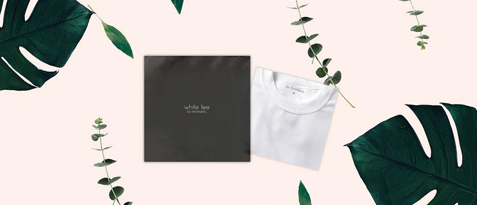 デザインサンプル 「Tシャツ専用包装紙袋 I'm reusable」